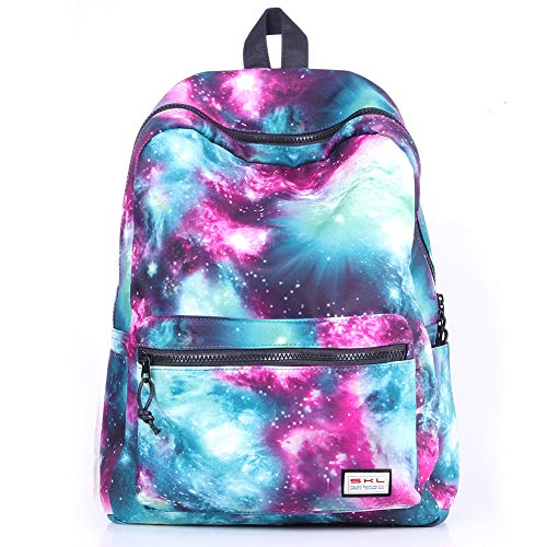 Galaxy School Backpack Travel Bag Unisex School Bag Collection Canvas Backpack -