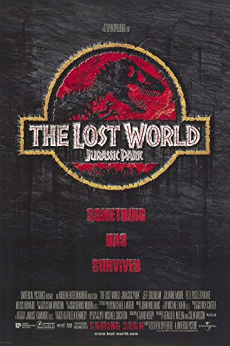 The Lost World: Jurassic Park 2 Movie Poster (27,94 x 43,18 ...