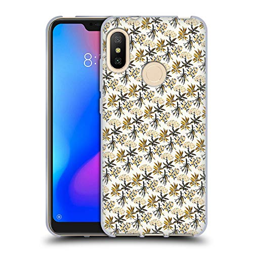Official Pom Graphic Design Herbal Apothecary Patterns Soft Gel Case for Xiaomi Mi A2 Lite/Redmi 6 Pro ()