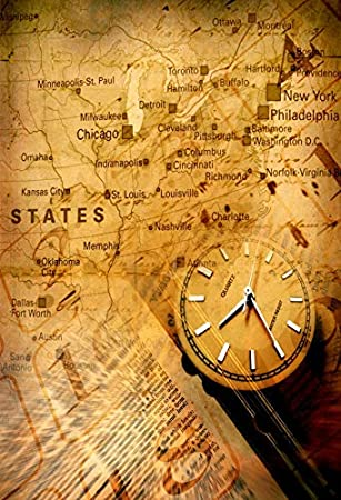 Amazon Com Yeele 10x8ft Old Compass Vintage World Map Background