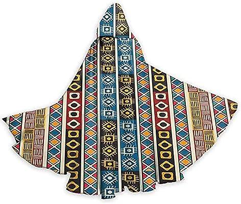 Rexing Capa para Adultos Capa étnica Africana Decoración Tribal ...