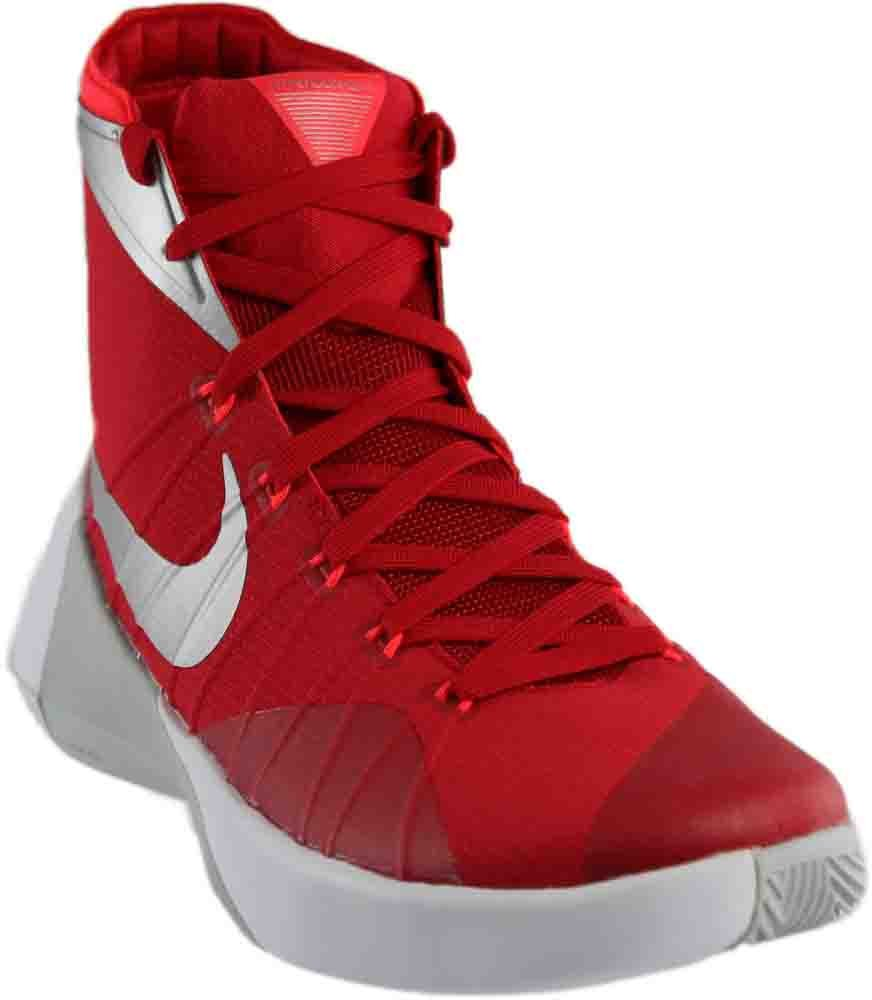 NIKE Men's Hyperdunk 2015 Basketball Sneaker B00Q71JK7A 14 M US|University Red/Bright Crimson/White/Silver