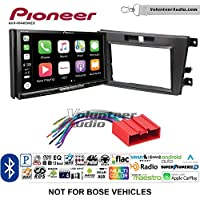 Volunteer Audio Pioneer AVH-W4400NEX Double Din Radio Install Kit with Wireless Apple CarPlay, Android Auto, Bluetooth Fits 2007-2009 Mazda CX-7 (Without Bose)