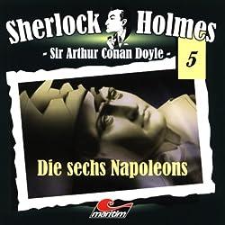 Die sechs Napoleons (Sherlock Holmes 5)
