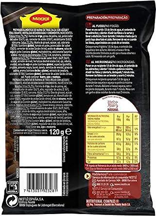 MAGGI Fusian Yakisoba Noodles Classic - Fideos Orientales - Paquete de 8 x 120 gr - Total: 960 gr: Amazon.es: Alimentación y bebidas