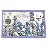 Michel Design Works 12-1/4 by 7-3/4-Inch Decoupage Wooden Vanity Tray, Lavender Rosemary