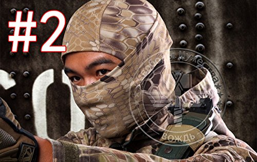 Outdoor Tactical Hunting Full Face Mask sm02 (Girls Magic Hat Bunny Costume)