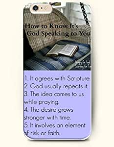 iPhone Case,OOFIT iPhone 6 (4.7) Hard Case **NEW** Case with the Design of how to know it's god speaking to you hungry for god starving for time 1. it agrees with scripture2.god usually repeats it3.the idea comes to us while praying 4 the desire grows stronger with time 5 it incolves an element of risk or faith - Case for Apple iPhone iPhone 6 (4.7) (2014) Verizon, AT&T Sprint, T-mobile