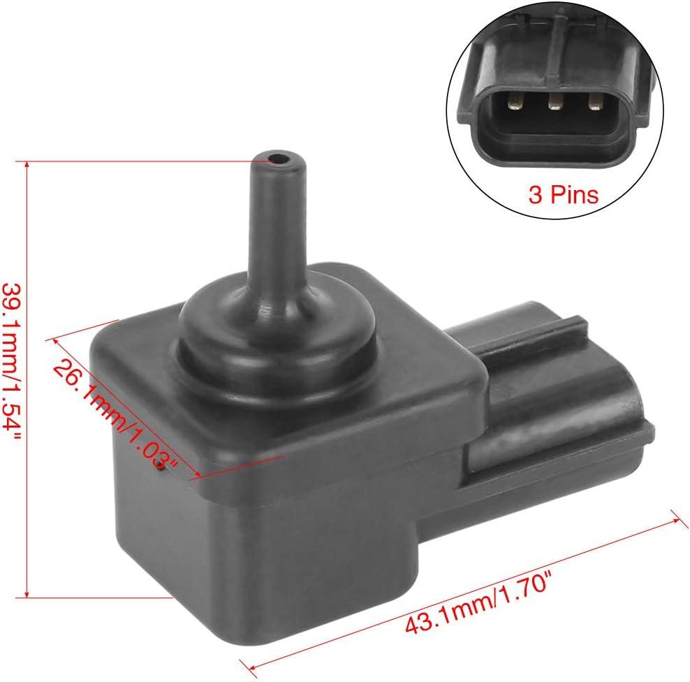 X AUTOHAUX 18591-42F00 MAP Manifold Pressure Intake Sensor 2004-2012 Boulevard Vstrom 1000