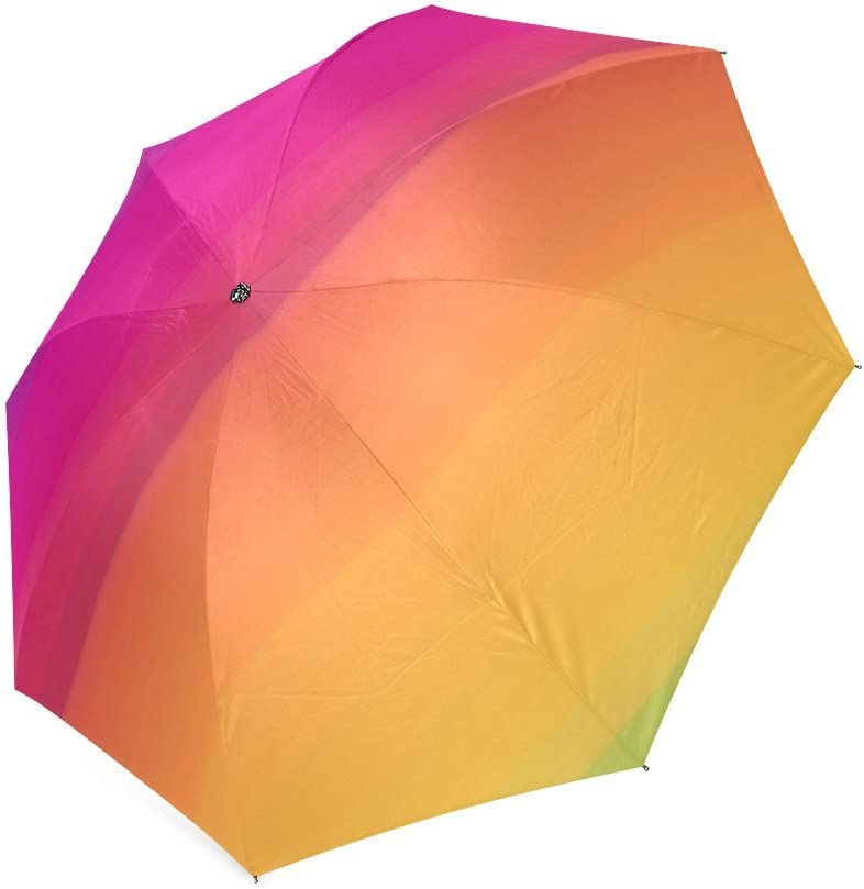 Personalized Equalize Foldable Umbrella Rain Compact Travel Umbrella