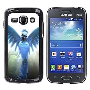 EJOY---Cubierta de la caja de protección la piel dura para el ** Samsung Galaxy Ace 3 ** --Pájaro del ángel