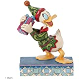 Jim Shore for Enesco Disney Traditions by Donald Elf Figurine, 5.45-Inch