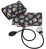 Prestige Medical Premium Aneroid Sphygmomanometer with Carry Case, Party Owls Black