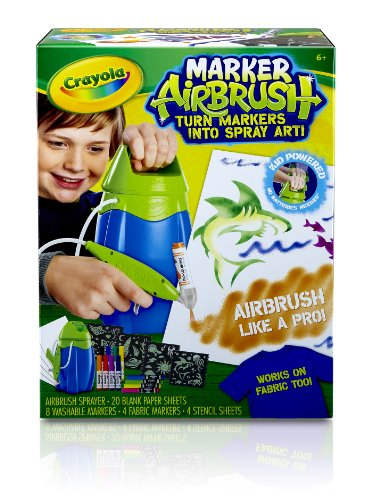 Crayola Marker Airbrush Set, (04-8727) (Crayola Spray Paint)