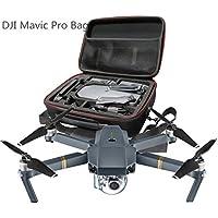 Dji Mavic Drone Storage Case Waterproof Handbag Hardshell Shoulder Bag Durable Shockproof Box Suitcase for DJI Mavic Pro RC Quadcopter (Black) (Black)