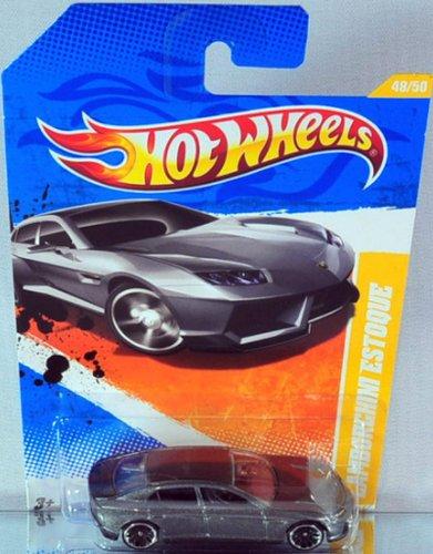 2011 Hot Wheels New Models Lamborghini Estoque Blue 48244 ...