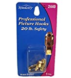 Professional Picture Hooks 3pcs, Case of 24
