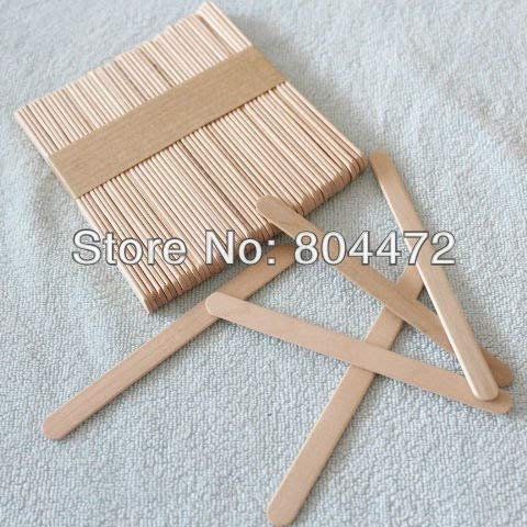 Moonnight Store Ice Cream Stick size 114102 mm 1000 pcs/lot popsicle Stick for DIY ice cream, Wooden sticks for craft purposes by Moonnight Store (Image #2)