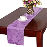 Abstract Color Forms Creative Modern Table Runner, Kitchen Dining Table Runner 16 X 72 Inch For Dinner Parties, Events, Decor