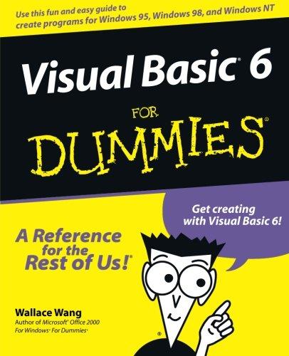 Visual Basic 6 for Windows for Dummies ISBN-13 9780764503702