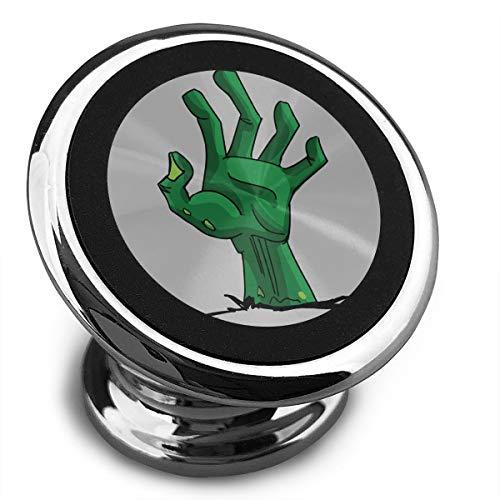 Baerg Universal Magnetic Phone Car Mounts Magnet Holder Green Creepy Zombie-Hand Magnetic Mount Phone 360¡ã Rotation]()