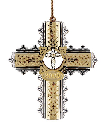 Baldwin Christmas Ornaments (Baldwin 2009 Ornate Cross  Ornament)