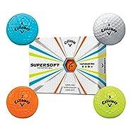Callaway 2015 Supersoft One Dozen MultiColored Golf Balls