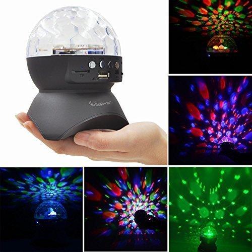 Speaker Bluetooth luci LED