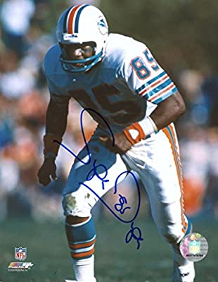 Mark Super Duper Miami Dolphins Signed Autographed 8x10 Photo W/coa