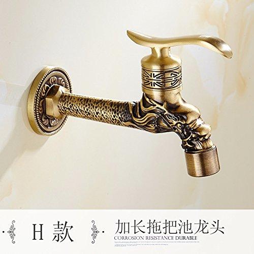 l'antica di rame unico mocio piscina lavatrice rubinetto speciale,g.