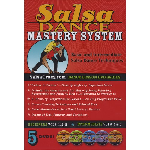 Salsa Dancing Mastery System (Dance Lessons on 5 DVDs): The Complete Salsa Dance Mastery System, 5 DVD Package. Learn to Salsa Dance!