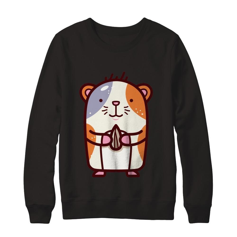 Teely Shop Mens Funny Cute Guinea Pig Love Animal Gildan Pullover Sweatshirt