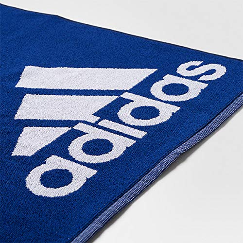 adidas Large Tennis Towel Mystery Ink and White-(BR0948) by adidas (Image #1)