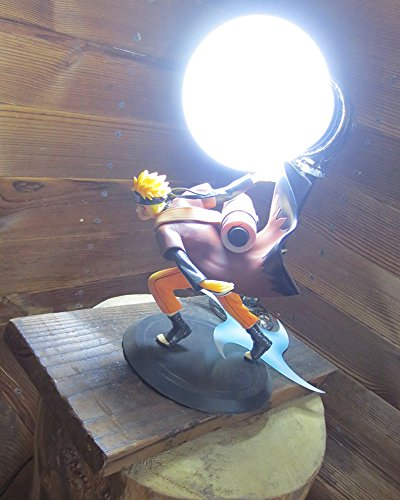 Naruto: Shippuden series LED Desk Lamp (Naruto) by Aurookeb