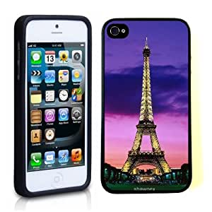iPhone 5 5S Case ThinShell TPU Case Protective iPhone 5 5S Case Shawnex Eiffel Tower Night Lights Paris