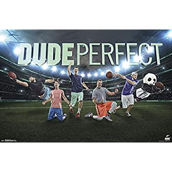 Trends International Dude Perfect - Group Wall Poster 22.375