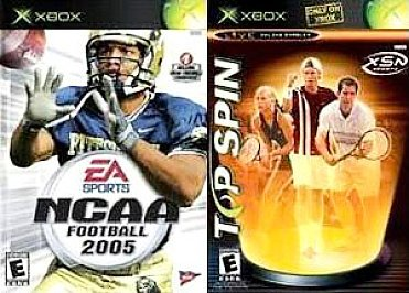 Top Spin/ NCAA Football 2005