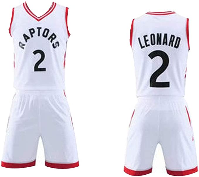 JIANGU # 2 Kawhi Leonard Space Toronto Raptors Camisetas de ...