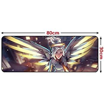 """GALIGEIGEI Soft Smooth Gaming Mouse Pad Mouse Mat (31.5 """"x 11.8""""x0.08"""") (MERCY-1)"""