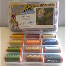 Aurifil Pat Sloan's Kit Art Amazing Threads Thread -12 Large Spools All Purpose