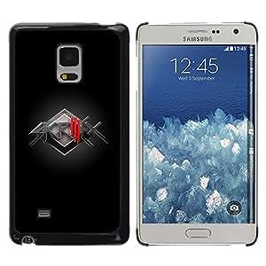 TECHCASE**Cubierta de la caja de protección la piel dura para el ** Samsung Galaxy Mega 5.8 9150 9152 ** Electronic Music Band