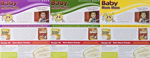 Baby Mum-Mum Variety Pack of 3 Original Banana and Vegetable 1.76 Oz each by Hot Kid (Image #3)