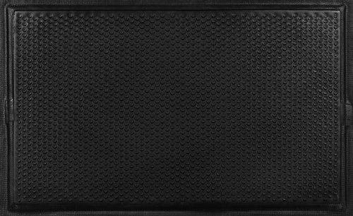 Andersen 490 Nitrile Rubber Happy Feet Grip Surface Anti Fatigue Mat with Black Border, 3