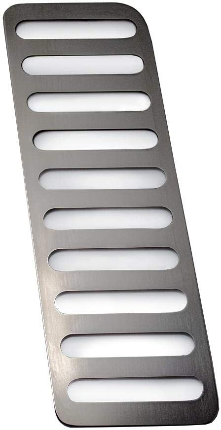 American Car Craft 2015-2020 Mustang Dead Pedal Trim Plate Polished Stainless Steel