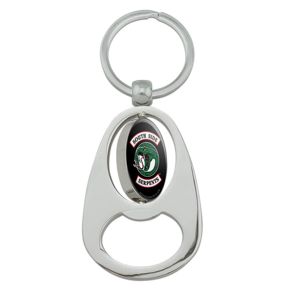 Riverdale South Side Serpants Metal Bottle Opener Keychain