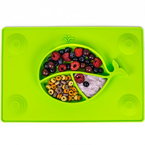Loopa Childrens No Slip Silicone Placemat