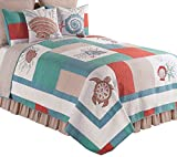 C&F Home Folly Beach Quilt, King, Seafoam