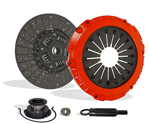 Clutch Kit Works With Chevrolet Camaro Pontiac Firebird Formula Trans Am Indianapolis 500 Pace Car Coupe Convertible 2-Door 1993-1997 5.7L 350Cu. In. V8 GAS OHV Naturally Aspirated (Stage 1)
