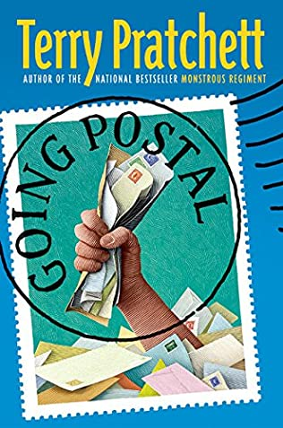 book cover of Going Postal