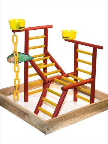Acrobird Play Land, 18-Inch W by 18-Inch D by Acrobird